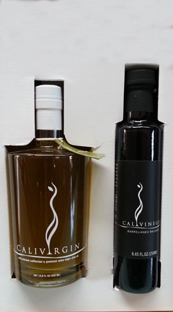 CaliVirgin Olive Oil 2-Pack Sampler Gift Box Image